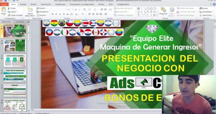 Gana Mas De $2000 Dolares En Tu Primer Mes Con AdsCycler Ganar Dinero Desde Casa 2018
