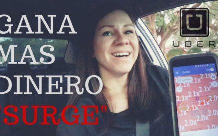 """Gana Más Dinero En Uber y Lyft Conociendo Que es el """"SURGE"""""""