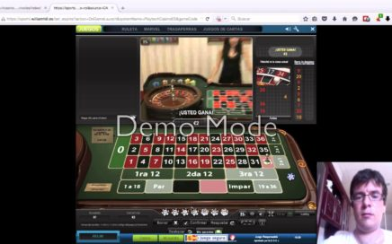 Ganando Dinero en la ruleta en vivo online desde williamhill