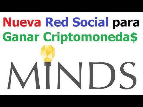 Ganar dinero con red social MINDS