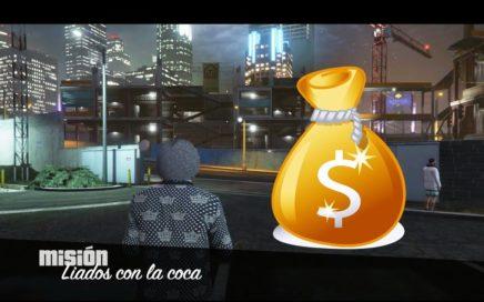 GTA 5 ONLINE MISION CON KARIN KURUMA BLINDADO PARA GANAR DINERO FACIL - Liados Con La Coca