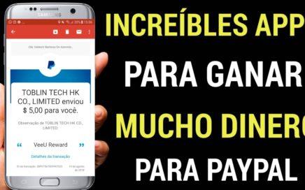 INCREÍBLE APP PARA GANAR $15USD DIARIOS EN PAYPAL- Ganar Dinero en PayPal Brutalmente 2018
