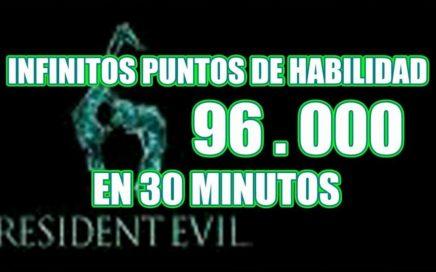 INFINITOS Puntos de Habilidad (Facil y Rapido) Resident Evil 6