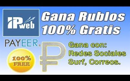 IPweb-gana rublos GRATIS SIN INVERTIR-5-15 Rublos diarios sin referidos.