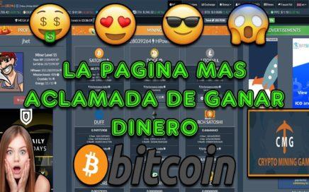 La Pagina Mas Aclamada de Ganar Dinero en Bitcoins | Facil y Sin Invertir | Cryptomininggame