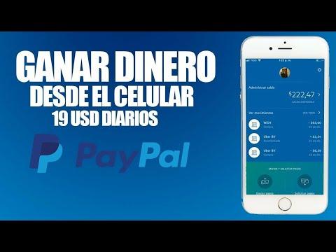 !La Unica Manera De Como Ganar Dinero Para Paypal 2018 Como Ganar Dinero En Paypal 100% Real No FakE