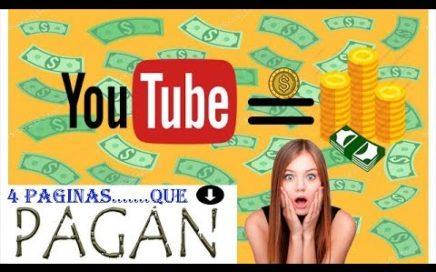 LAS 4 MEJORES Páginas Para Ganar Dinero por Publicidad, Encuestas, anuncios por internet [Pagan]