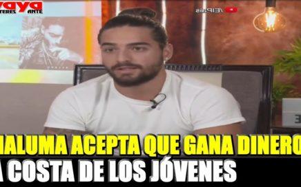 Maluma acepta que gana dinero a costa de jóvenes mal orientados.