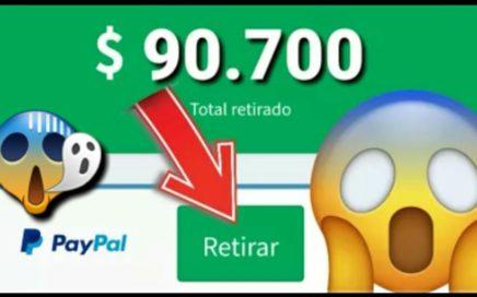 !NUEVA APLICACIÓN Gana Dinero | Para Tu Paypal NUAVA APPS 2018