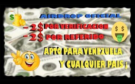 Nuevo Aidrop Latium Exchange - 2$ Dolares Gratis por Verificacion + 2$ por Referido