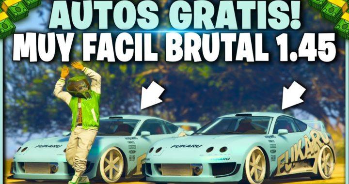 NUEVO! - COMO TENER TODOS LOS AUTOS GRATIS FACIL! GTA V 1.45 (PS4 - XBOX ONE)