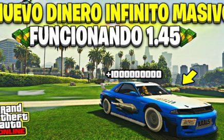 NUEVO! DINERO INFINITO MASIVO +1.000.000$ CADA 1 MINUTO FUNCIONA GTA 5 ONLINE 1.45 (PS4/XBOX ONE/PC)