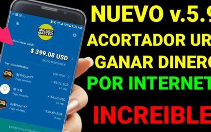 NUEVO METODO COMO GANAR DINERO POR INTERNET 2018/ MIGUEL MASTER PRO
