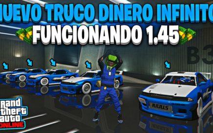 NUEVO! TRUCO DINERO INFINITO MUY FACIL DE HACER *1.000.000$ CADA 5 MINUTOS* GTA 5 ONLINE 1.45