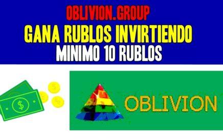 OBLIVION - 115.2% EN SOLO 24 HORAS (MINIMO 10 RUBLOS)