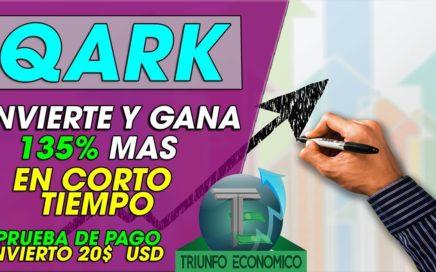 QARK| INVIERTE Y GANA MAS DINERO | 135% DE BENEFICIO EN CORTO TIEMPO +(ESTAFA NO PAGO)