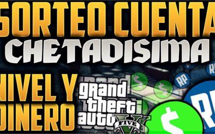 Regalando cuentas chetadas! GTA V ONLINE DINERO Y NIVEL infinito!