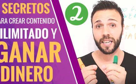 SECRETOS PARA CREAR CONTENIDO ILIMITADO Y GANAR DINERO (PARTE 2)   Alejandra y Toni    Ed2   V79