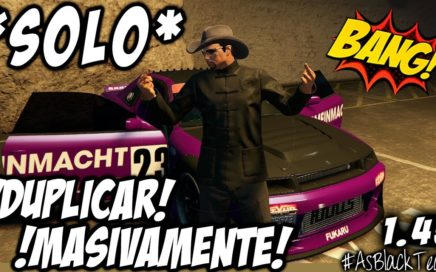 "*SOLO MONEY GLITCH* - DUPLICAR COCHES ""MASIVAMENTE"" - GTA V - PLACAS LIMPIAS - (PS4 - XBOX One)"