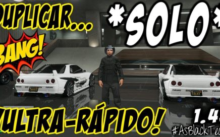 "SOLO MONEY GLITCH - DUPLICAR COCHES SIN AYUDA - GTA V - ""ULTRA-RÁPIDO"" - (PS4 - XBOX One)"