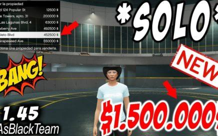 """""""SOLO MONEY GLITCH"""" - """"NEW - NUEVO"""" - GTA V - $1.500.000$ SIN AYUDA - DINERO INFINITO - !NOVEDAD!"""