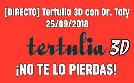 TERTULIA 3D con Dr.Taly 25.09.18 ¿SE PUEDE GANAR DINERO?|RIFA DELTA FABIAN|RETOTALY