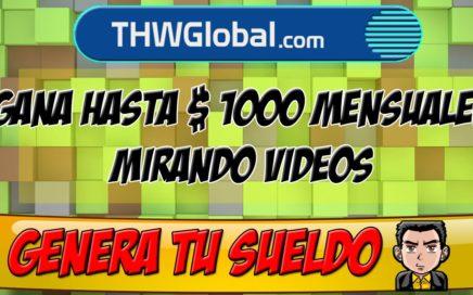 THWGlobal | Como Ganar Dinero Sin Invertir Nada 2016 | THWGLOBAL 04 JULIO