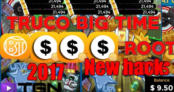 TRUCO BIG TIME, Aprovecha!!! Antes que lo quiten 2017,2018 (Comprobante de pago)