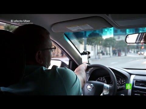 """Un conductor de Uber: """"Es dinero fácil, cualquiera puede hacerlo"""" - Equipo de investigación"""