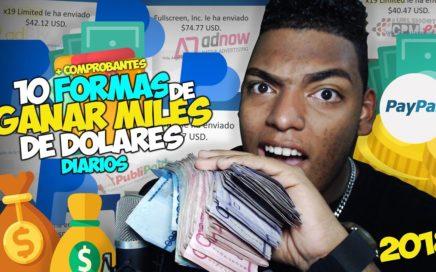 10 FORMAS DE GANAR Dinero para PayPal SEGURO 2018 - Ángel Davinci Pro