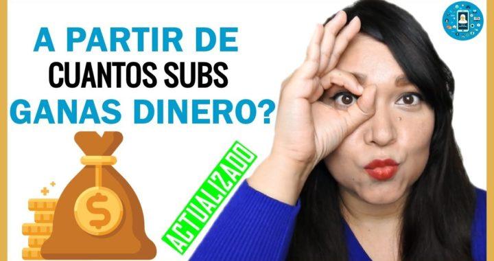 A partir de cuantos suscriptores GANAS DINERO en Youtube?   Tips de Redes Sociales
