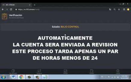 #AIRDROP 365.STREAM #PAGANDO 0,50$ POR REGISTRO + '0,50$ POR REFERIDO ( VALIDO PARA VENEZUELA )