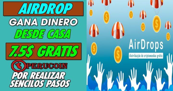 || AIRDROP PERUCOIN || GANA 7.5$ GRATIS POR SENCILLOS PASOS GRAN OPORTUNIDAD CUPOS  LIMITADOS