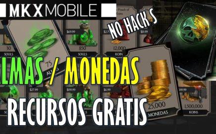 ALMAS MONEDAS Y RECURSOS GRATIS - COMO AVANZAR RAPIDO EN MORTAL KOMBAT X MOBILE - NO HACK S