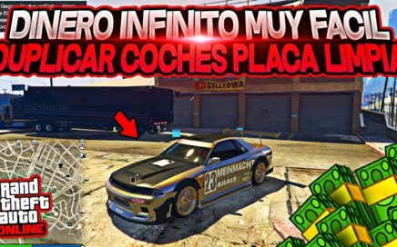 BRUTAL!!!  - COMO DUPLICAR COCHES -  EN GTA V ONLINE FACILISIMO * MONEY GLITCH*