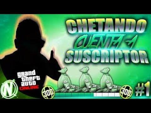 CHETANDO DiNERO METODO SOLO SUBS+PARTiCiPA $ 999,999 GTA 5 $ CON TU SUBSCRiPCiON!