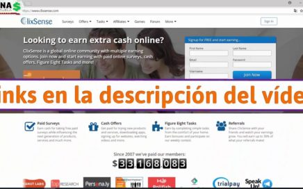 Clixsense Explicacion - Gana Dinero con Encuestas Online