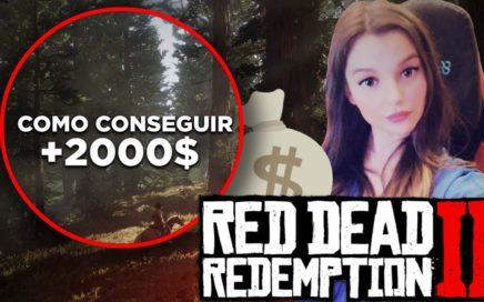 Cómo conseguir DINERO FÁCIL y RÁPIDO *+2.000$* TESORO | RED DEAD REDEMPTION 2