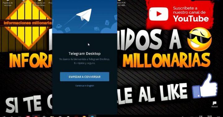 COMO DESCARGAR E INSTALAR TELEGRAM PARA PC 2018 GRATIS, FACIL, RAPIDO Y SENCILLO