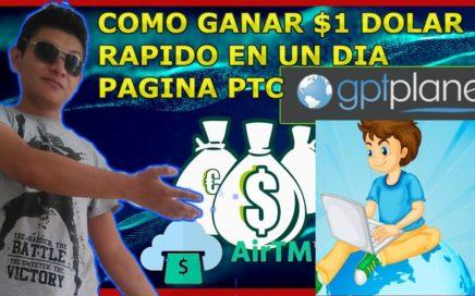 Cómo Ganar $1.00 dolar Gratis Online en GPTplanet