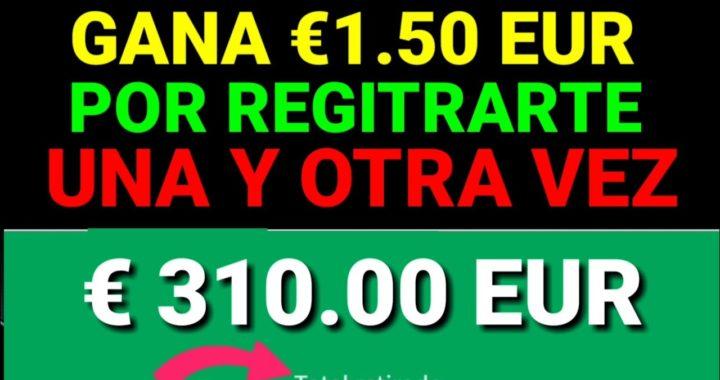 como ganar 1.50 EUR por registrarte $ do forma de ganar dinero PayPal 2018/2019