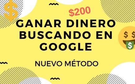 Cómo ganar dinero buscando en Google [NUEVO MÉTODO]