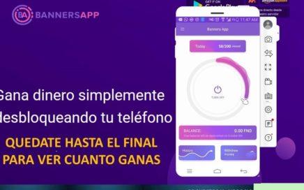 """Cómo GANAR DINERO $$ Con Banners App """"FACIL"""" PAGA!!"""