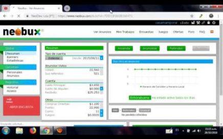 Cómo ganar Dinero con Neobux en Venezuela -  2018