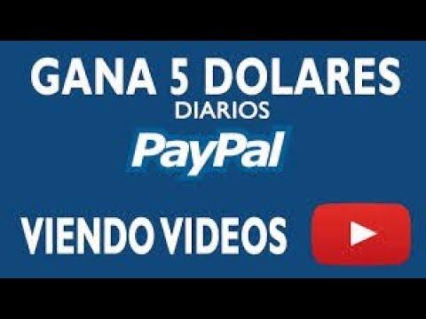 """COMO GANAR DINERO EN INTERNET VIENDO VIDEOS HASTA 5$ AL DIA """"PAGANDO"""" 2018"""