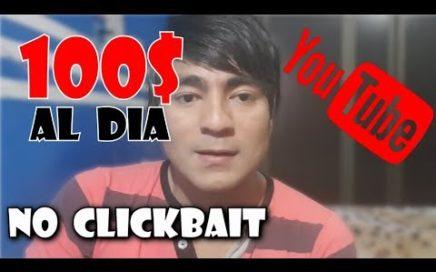 Cómo GANAR DINERO en YouTube SIN HACER VIDEOS|NO CLICKBAIT
