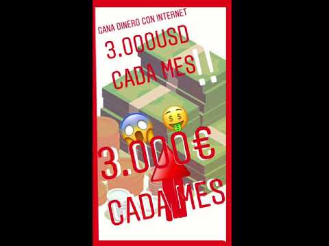 Cómo ganar dinero por internet 10.000€ al MES!