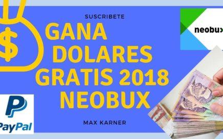 COMO GANAR DINERO POR INTERNET EN COLOMBIA SIN INVERTIR 2018 NEOBUX