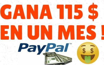 COMO GANAR DINERO POR INTERNET| MÁS DE 115 $ COBRADOS EN UN SOLO MES + PRUEBAS DE PAGO Y ESTRATEGIA