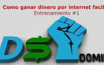 Como Ganar Dinero por Internet oportunidad de negocio DS Domination Drop shipping Español- Parte 1